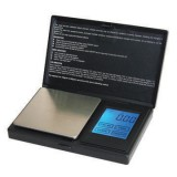 Touch jewelry scale, pocket scale, TP series in black